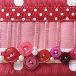 Vintage Button Make-up Purs..