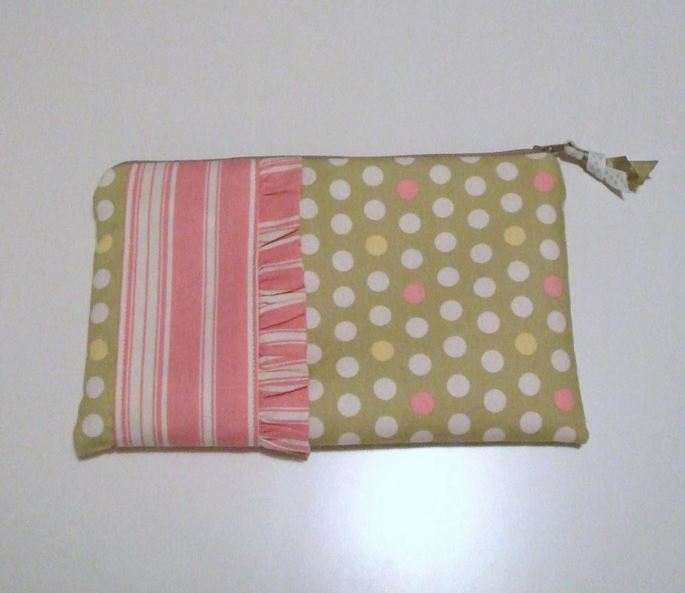 SALE SALE SALE Polka Dot Clutch Bag